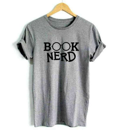 T-Shirt Citation<br /> Book Nerd