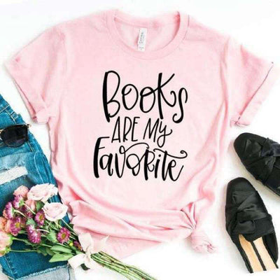 T Shirt Femme Books are my favorite