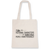Tote Bag fictional characters