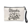 Pochette Femme Books and Coffee