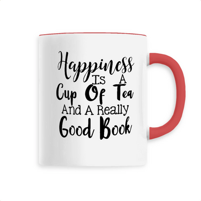 Mug original happiness rouge