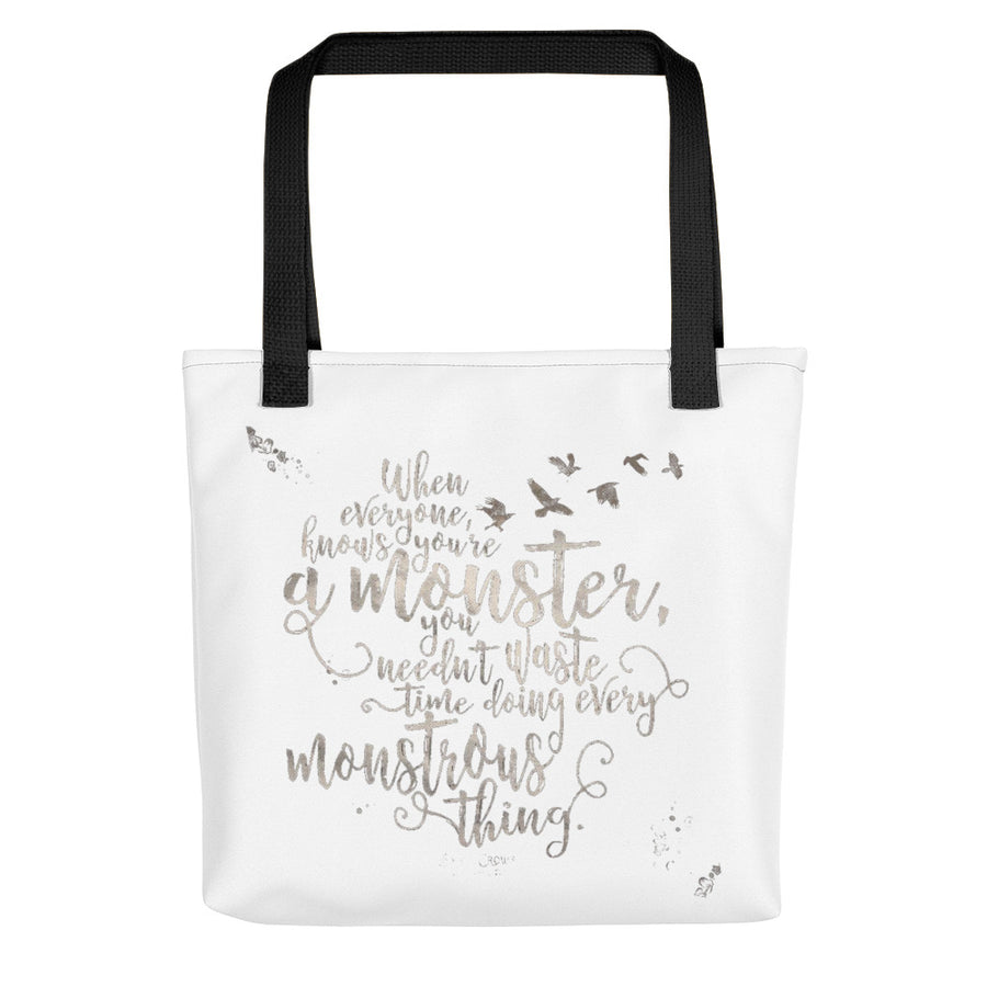 Sac Fourre Tout Femme Six of Crows Blanc