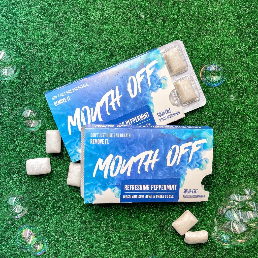 Mouth off Dissolving Gum : RESPONSIBLE FORMULA