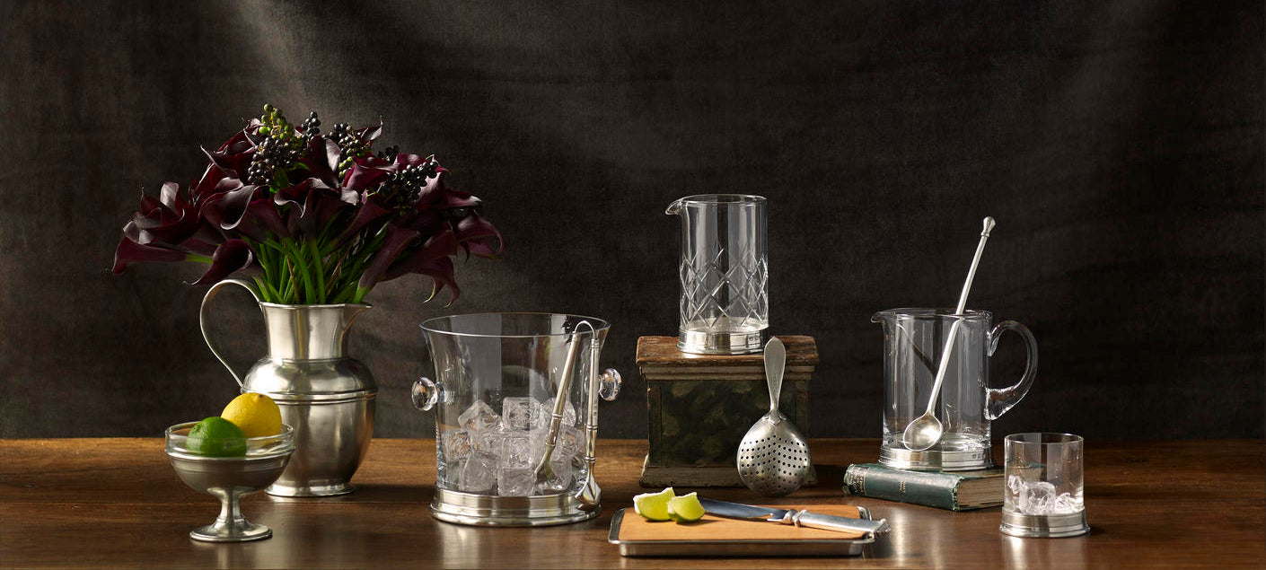 MATCH Pewter Barware