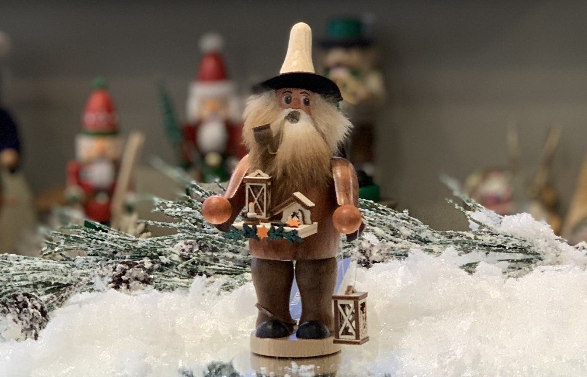 Christmas German Incense Smokers by Timothy De Clue Collection
