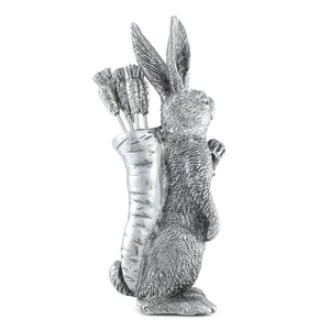 Pewter Rabbit Olive-Cheese Carrot Pick | Timothy De Clue Collection