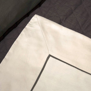 Tubaturo Egyptian Cotton Fitted Flat Sheet Separates Italian Made