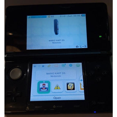 Nintendo 3DS, sort