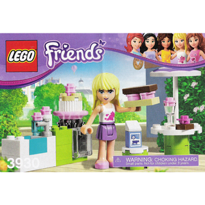 "LEGO Friends 3930 ""Stephanie's Outdoor Bakery"""