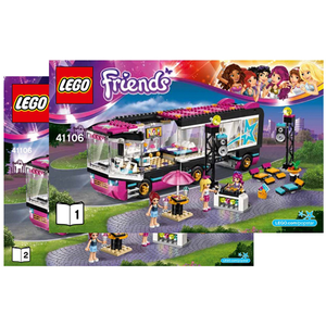 "LEGO Friends 41106 ""Popstar Tour Bus"""