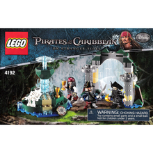 "Indlæs billede til gallerivisning LEGO Pirates of the Caribbean 4192 ""Fountain of Youth"""