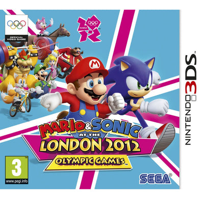 Mario & Sonic: At The London 2012 Olympic (3DS)