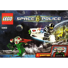 "Indlæs billede til gallerivisning LEGO Space Police 5969 ""Squidman Escape"""