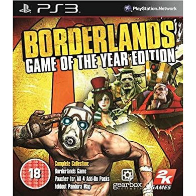 Borderlands: Game Of The Year Edition (PS3)
