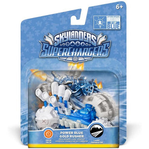 "Superchargers ""Power Blue Gold Rusher"""