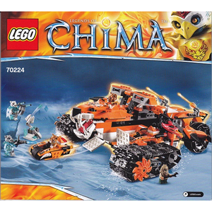 "LEGO Chima 70224 ""Tigers Mobile Command"""