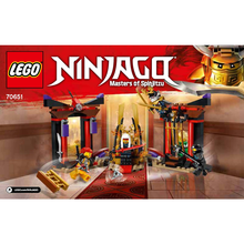 "Indlæs billede til gallerivisning LEGO Ninjago 70651 ""Throne Room Showdown"""