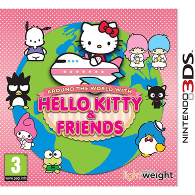 Around The World With Hello Kitty & Friends (3DS)