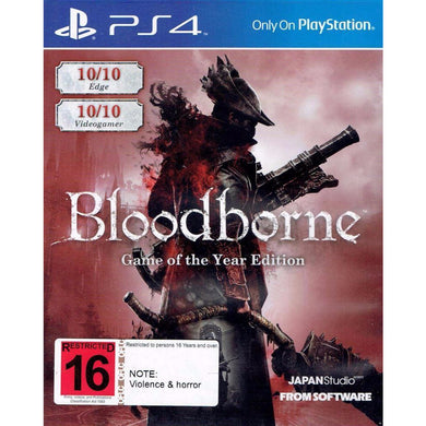 Bloodborne: Game Of The Year Edition (PS4)