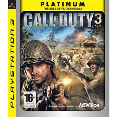 Call Of Duty 3 Platinum (PS3)