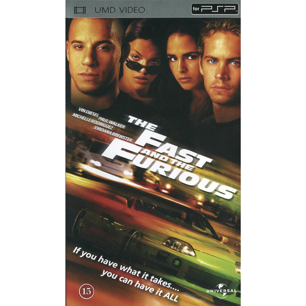 UMD Film - The Fast and the Furious