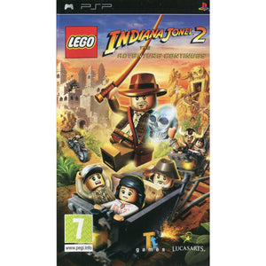 PSP - LEGO Indiana Jones 2: The Adventure Continues