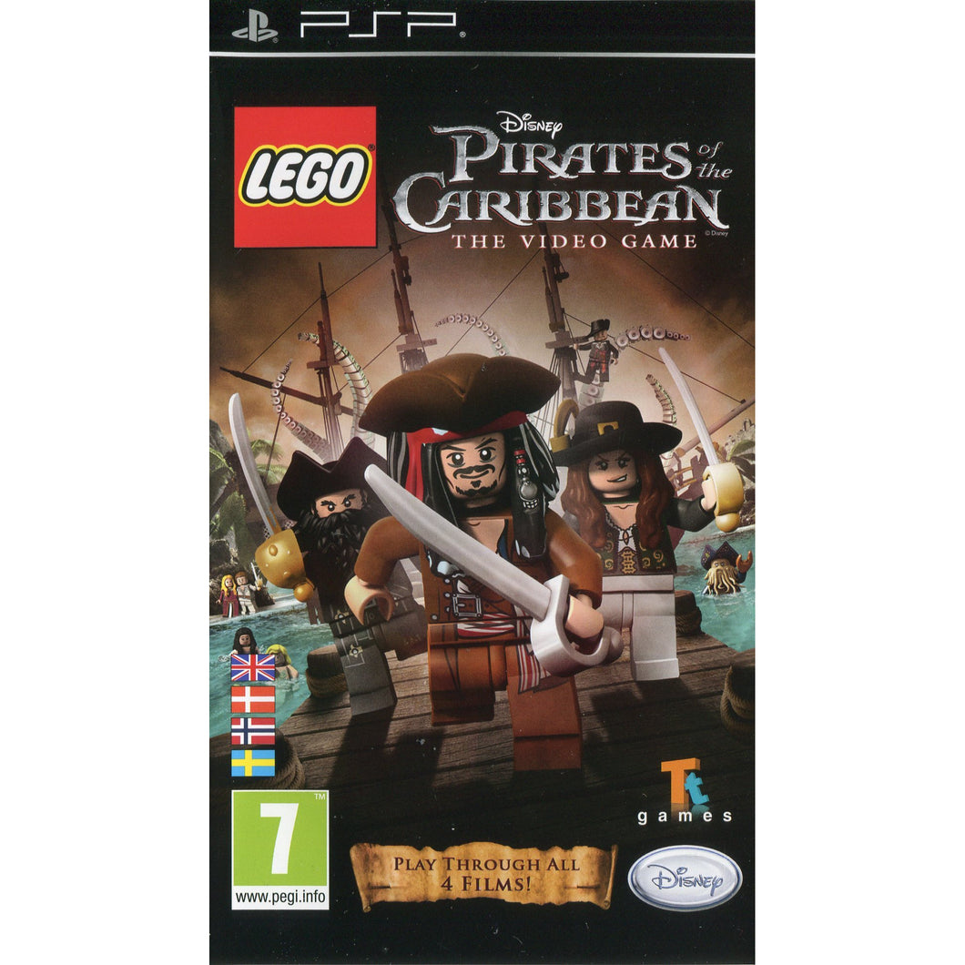 PSP - LEGO Pirates of the Caribbean