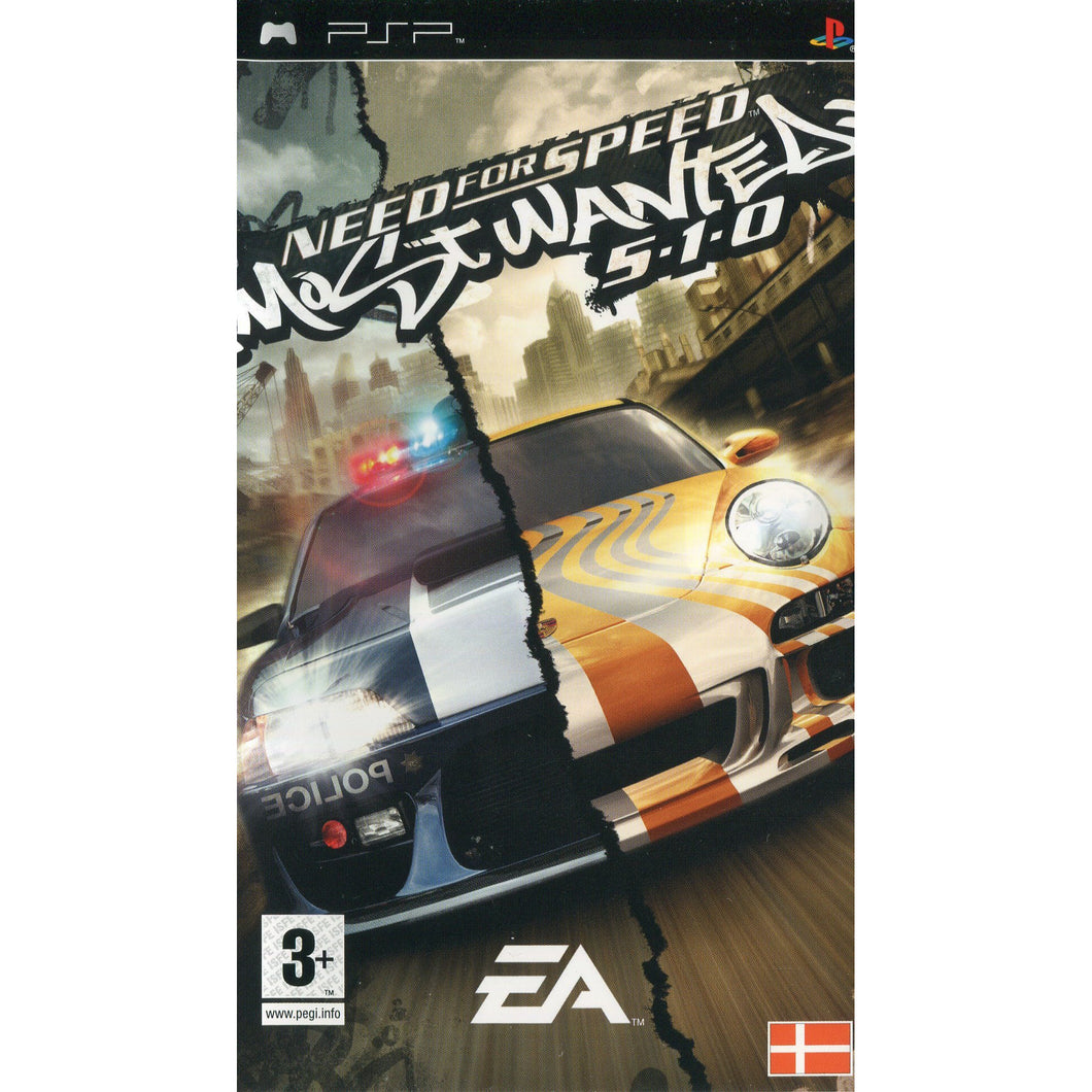 PSP - Need For Speed: Most Wanted 5-1-0