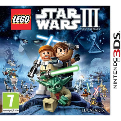 Star Wars III: The Clone Wars (3DS)