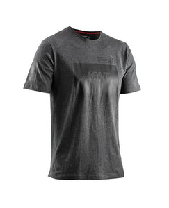 Grey T-shirt with Leatt Fade logo on the front