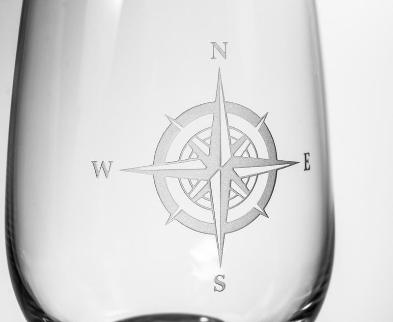Rolf Glass Compass Rose 18oz All Purpose Wine