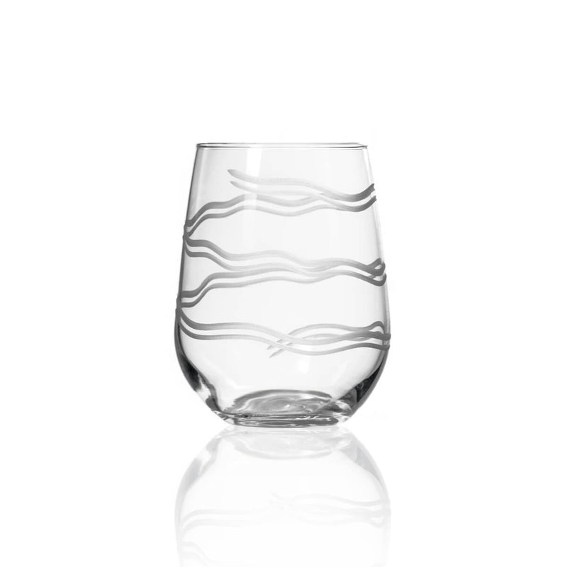 Rolf Glass Good Vibrations 17oz Stemless Wine