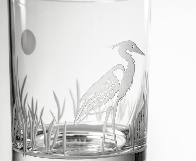 Rolf Glass Heron 14oz Double Old Fashioned