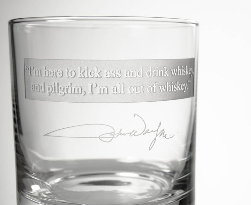 "Rolf Glass John Wayne ""Quotes Series 2"" 3 Piece Gift Set 