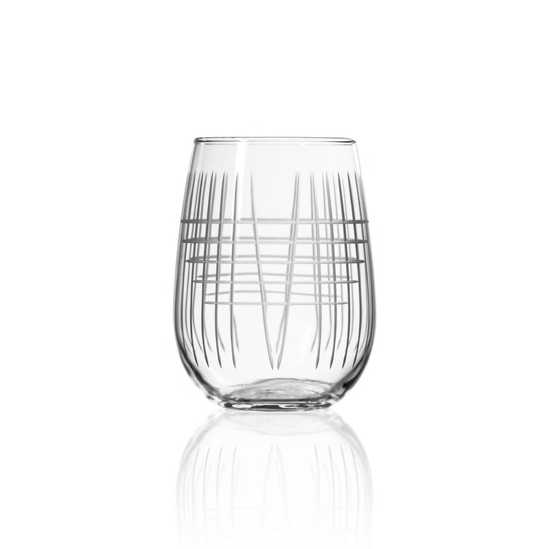 Rolf Glass Matchstick 17oz Stemless Wine