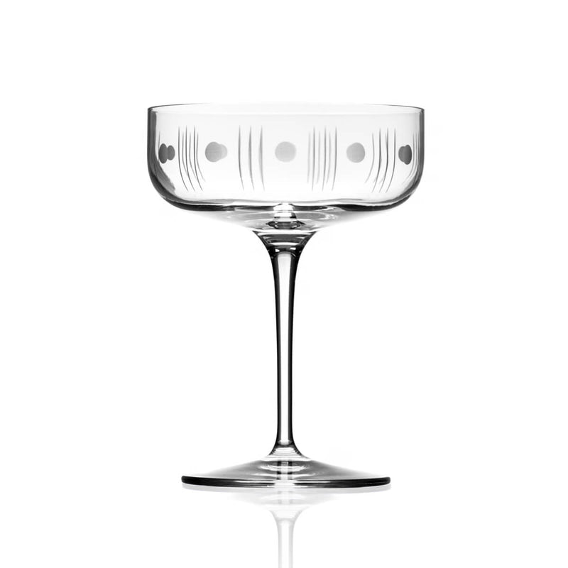 Rolf Glass Mid-Century Modern 10.25oz Coupe