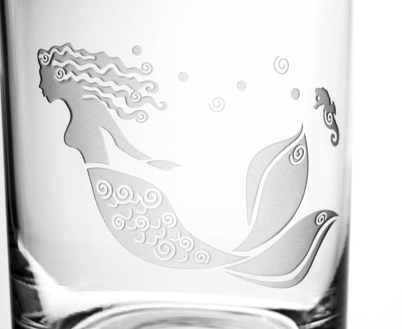 Rolf Glass Rolf Glass Mermaid 14oz Double Old Fashioned