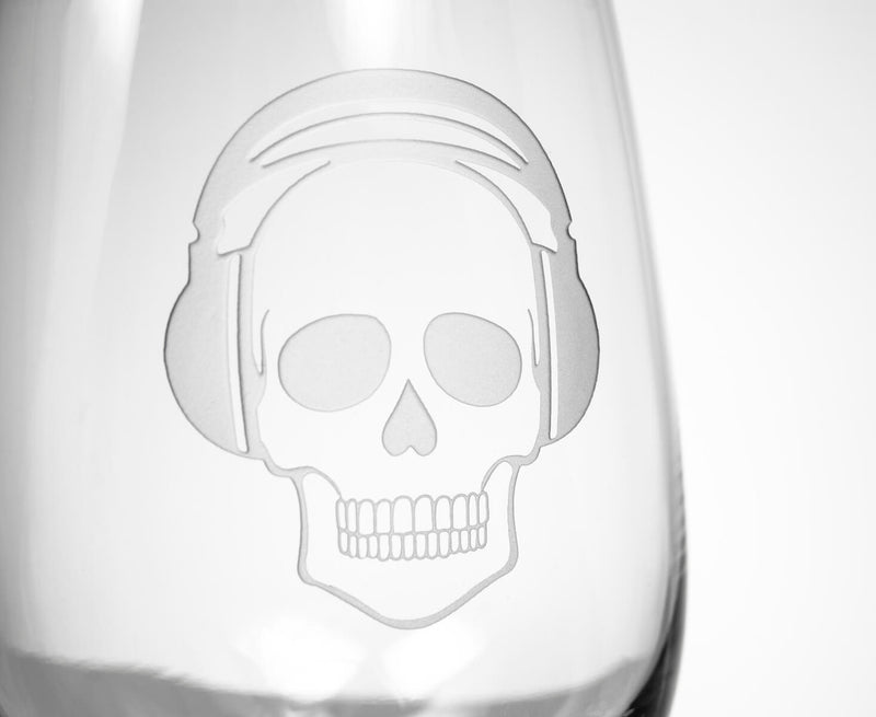 Rolf Glass Numbskulls 17oz Stemless Wine