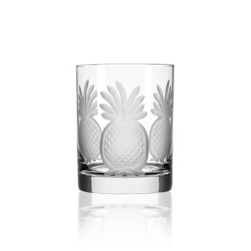 Rolf Glass Pineapple 14oz Double Old Fashioned