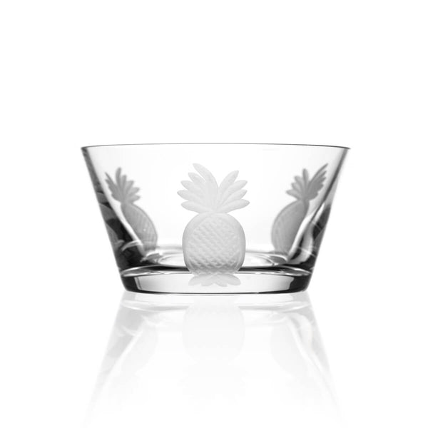 "Rolf Glass Pineapple 6"" Small Bowl"