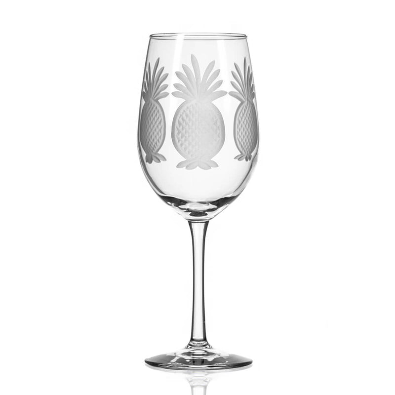 Rolf Glass Pineapple 12oz White Wine
