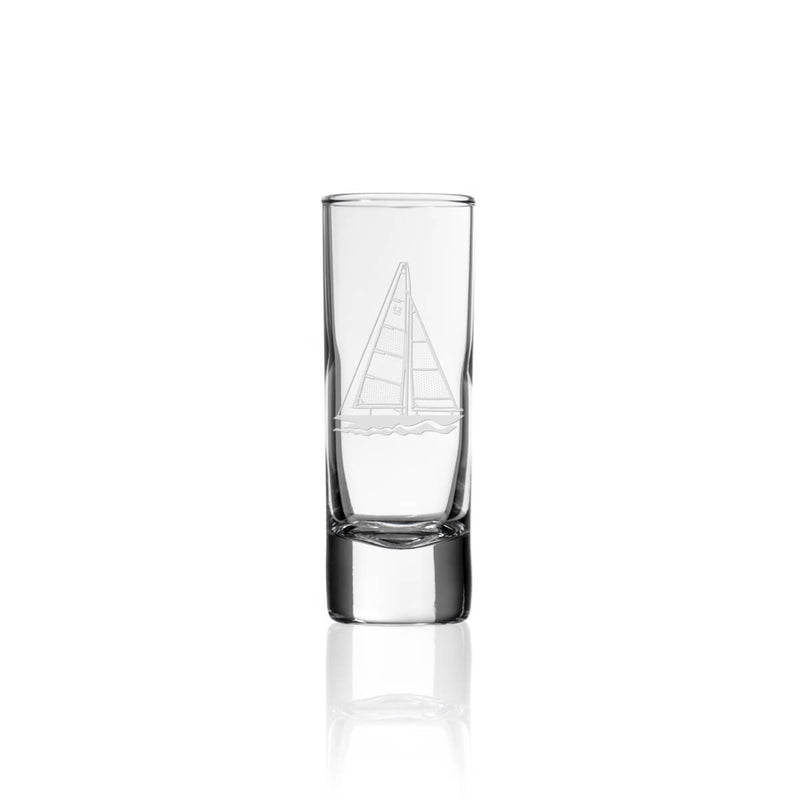 Rolf Glass Sailboat 2.5oz Cordial