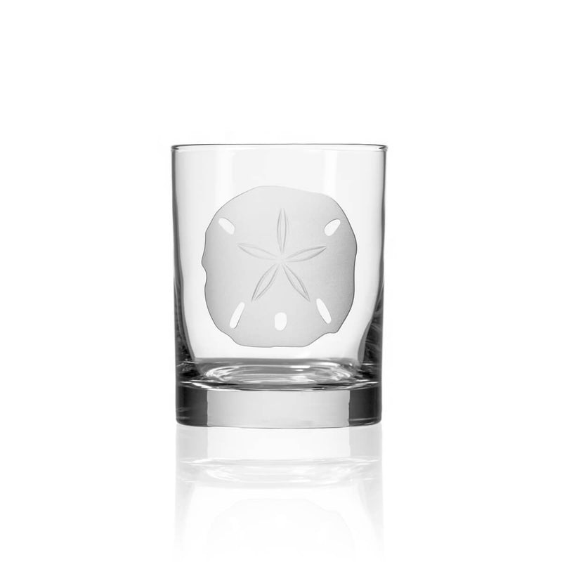 Rolf Glass Sand Dollar 14oz Double Old Fashioned