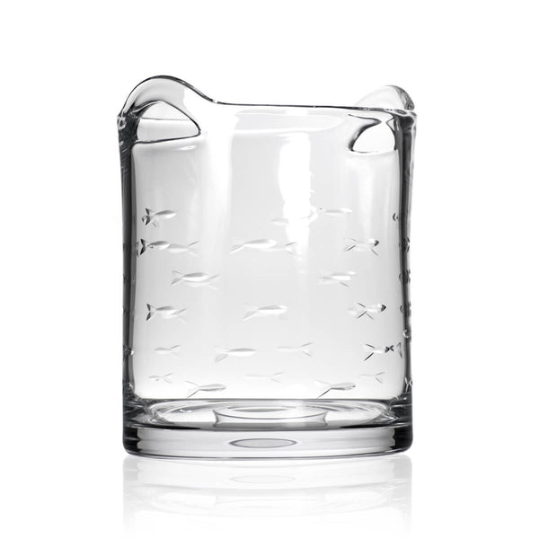 Rolf Glass School of Fish Ice Bucket