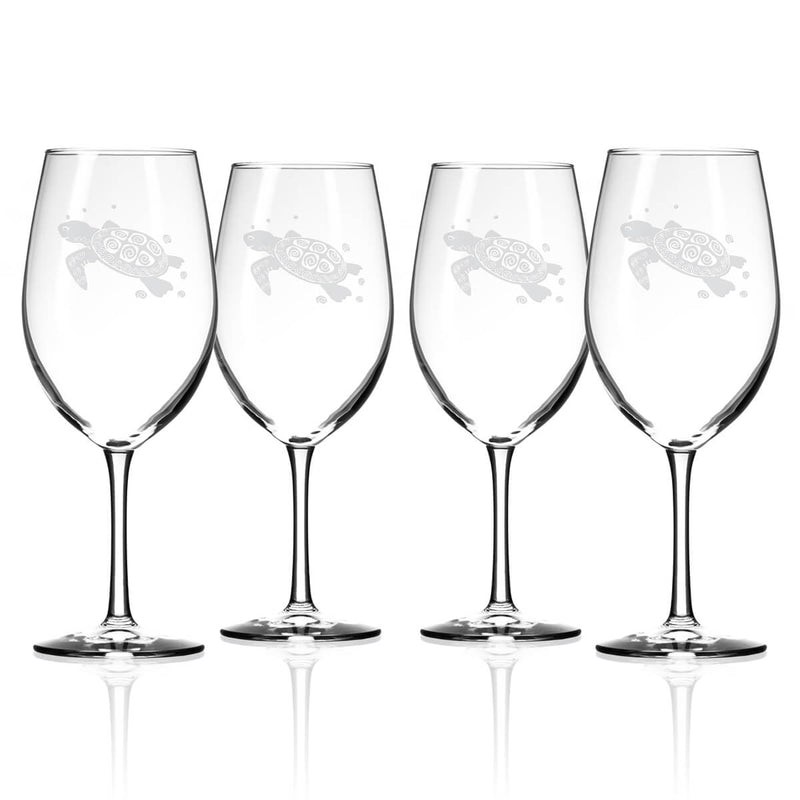 Rolf Glass Sea Turtle 18oz All Purpose Wine