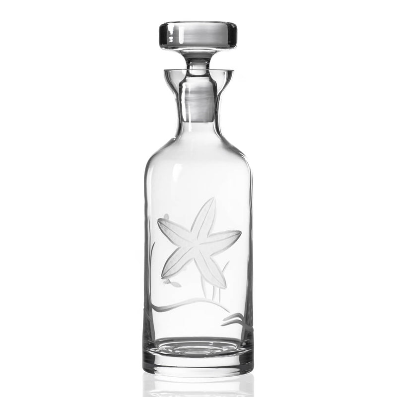 Rolf Glass Starfish 32oz Decanter