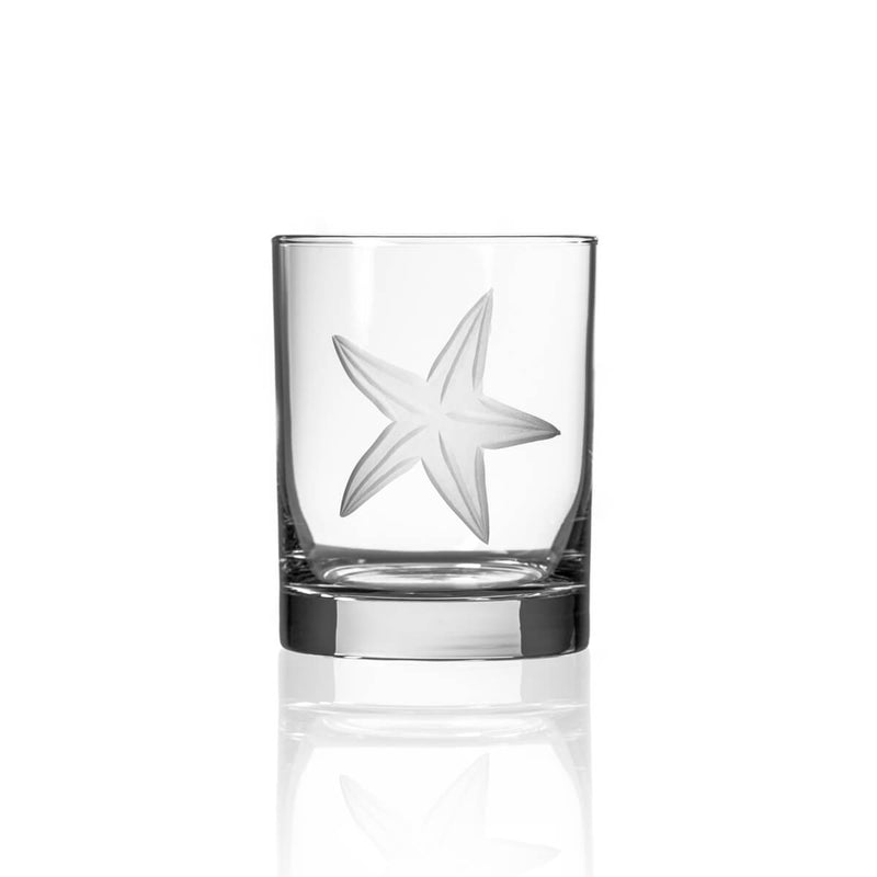 Rolf Glass Starfish 14oz Double Old Fashioned