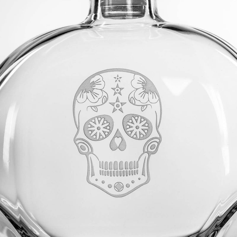 Rolf Glass Sugar Skull 3 Piece Gift Set