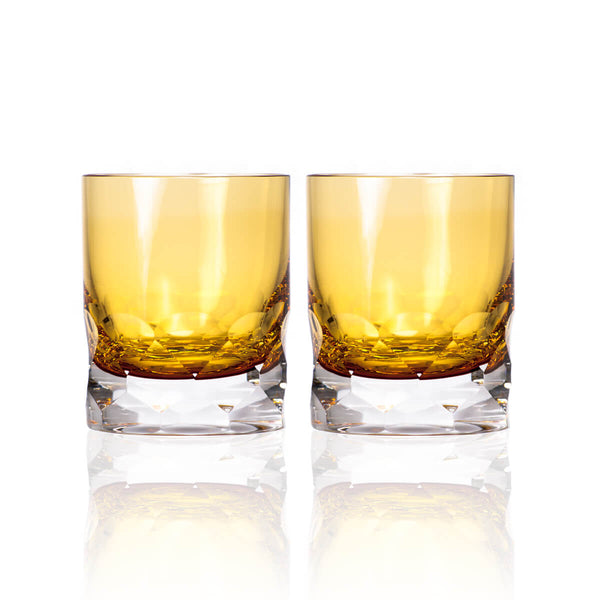 Rolf Glass Vienna Amber 7oz Double Old Fashioned