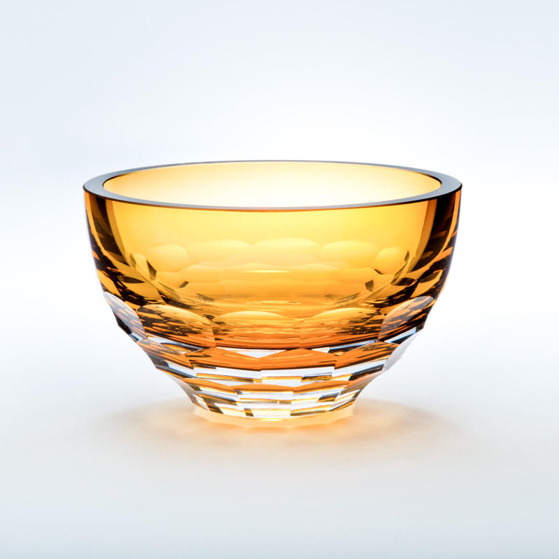 Rolf Glass Vienna Amber Bowl